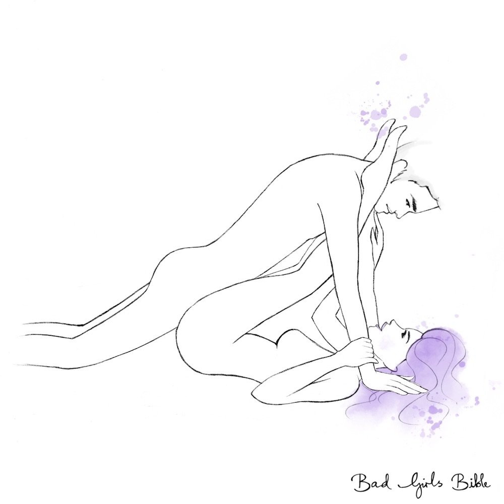 Double penetration sex positions