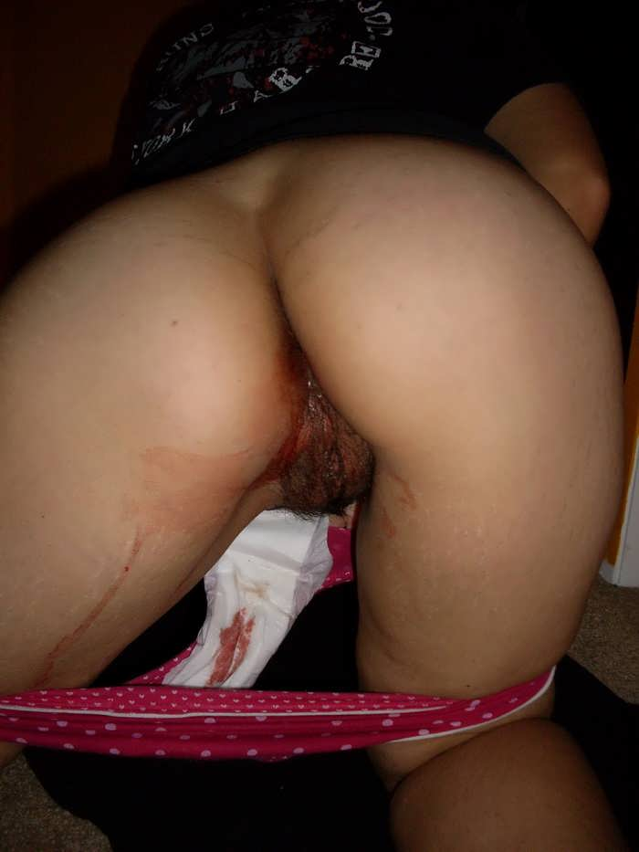 Menstrual blood xxx indian
