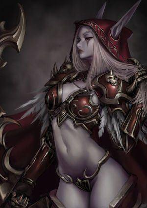 Lady sylvanas windrunner hentai