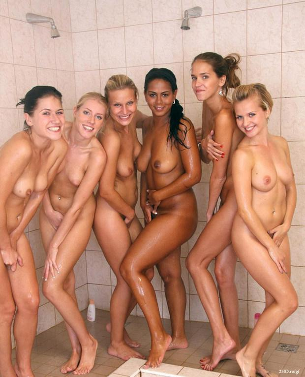 Nude athletic college girls