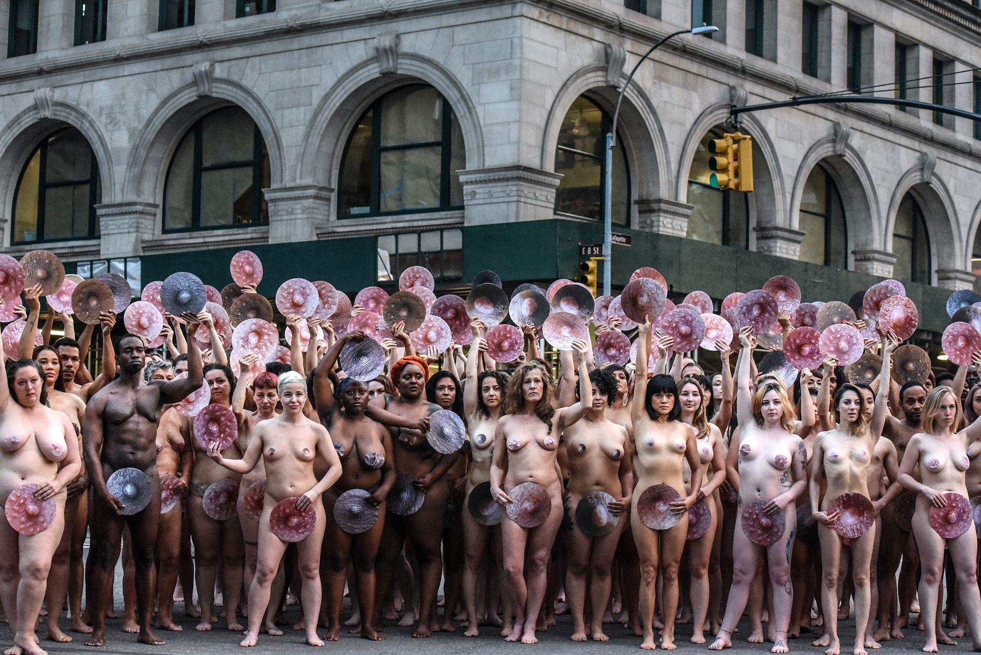 Group dutch girls naked public