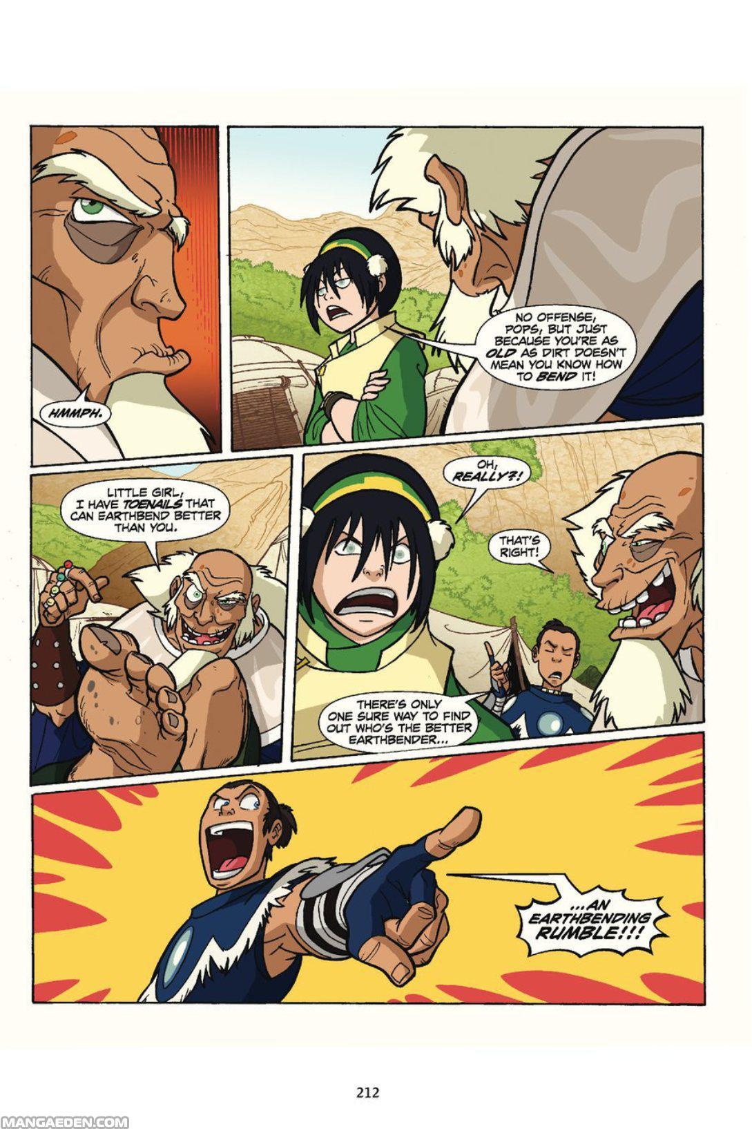 Avatar toph hentai comics