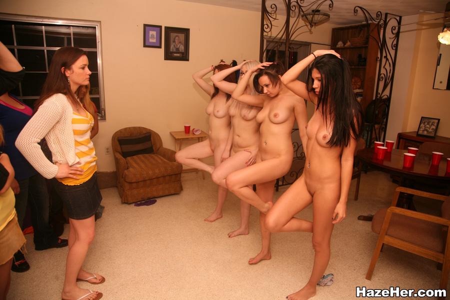 Hot naked college girls having lesbian sex