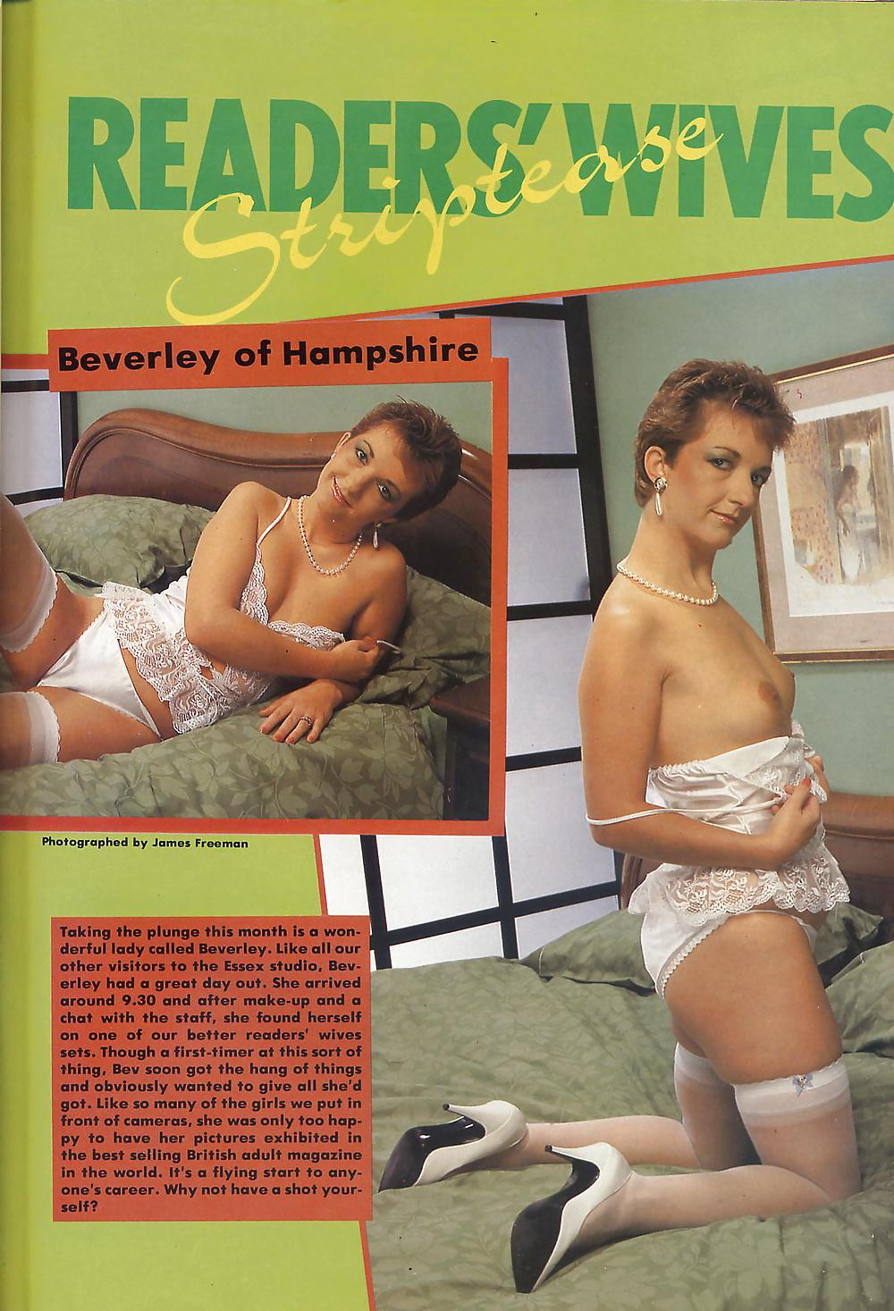 Wives nude readers pics vintage