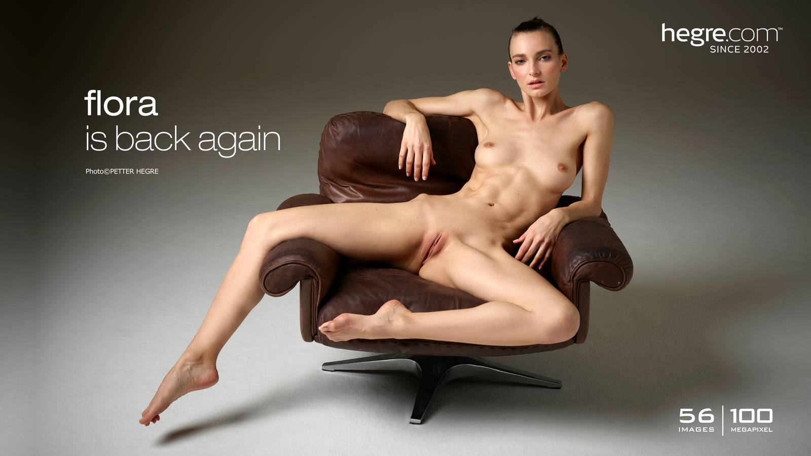 Nude flora hegre anal