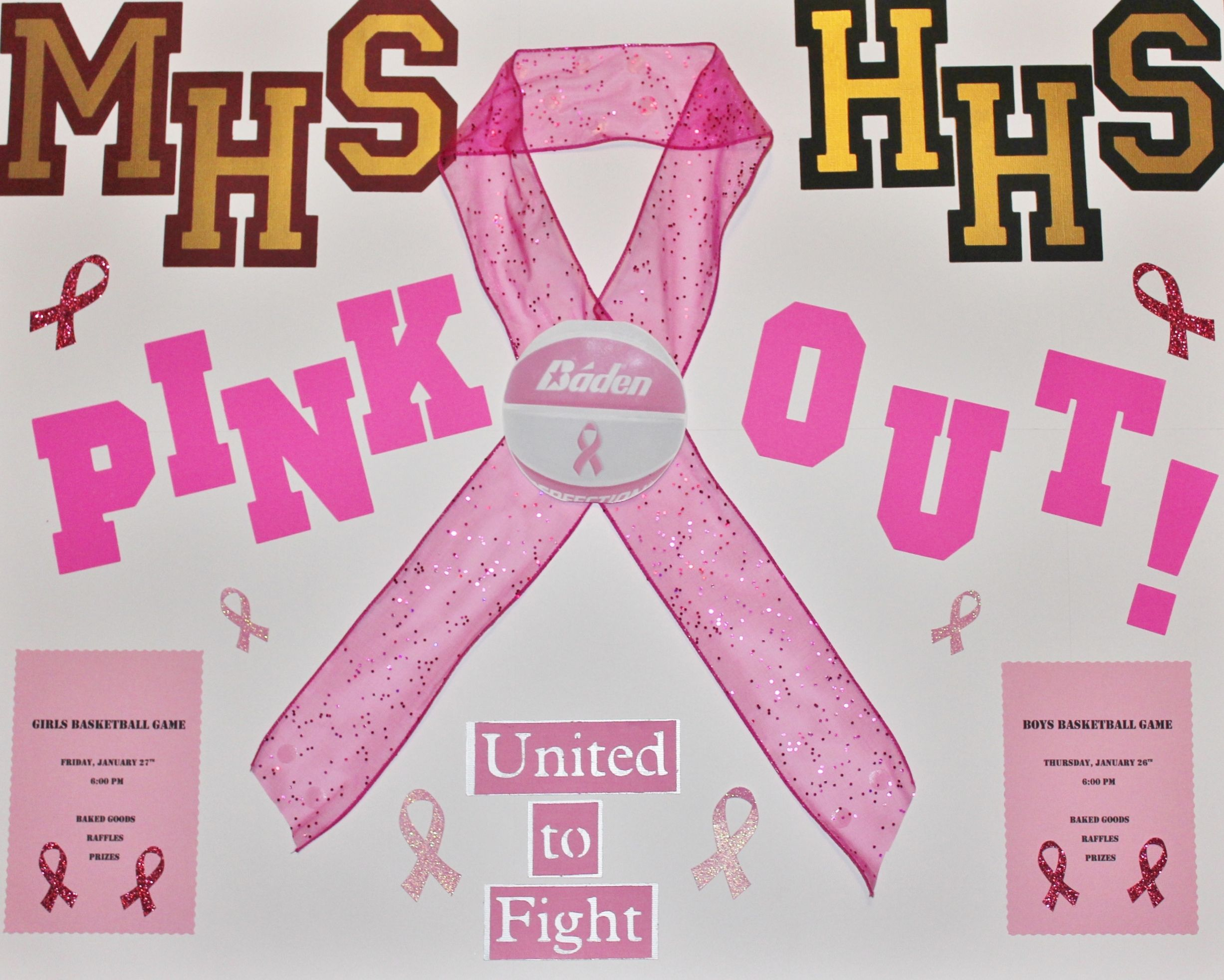 Breast cancer awareness basketball game