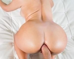 Big oily ass anal open