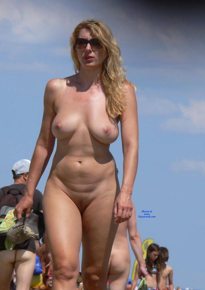 Nude beach hairy big photo