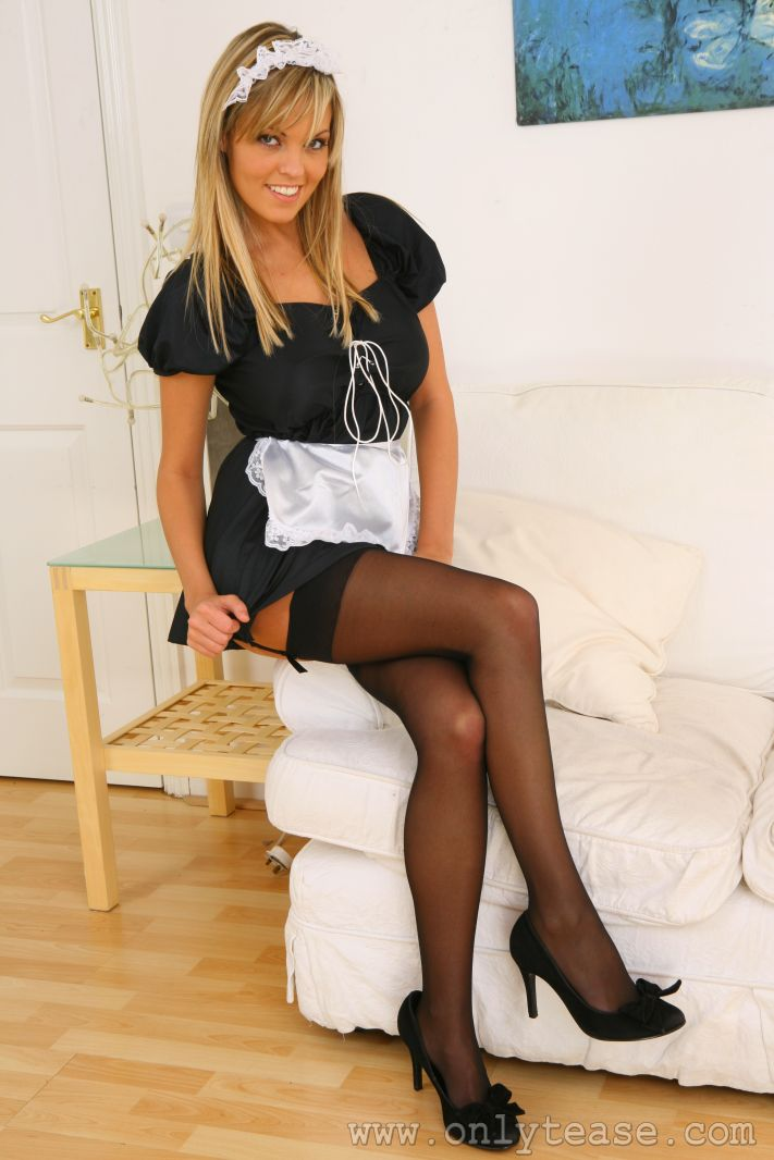 Only tease french maid sexy