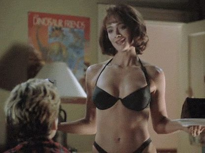 Black lauren holly bikini