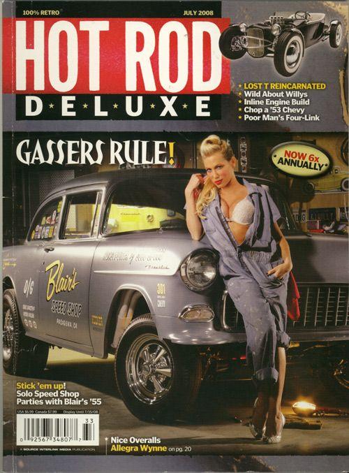 Hot rod magazine pin up girls