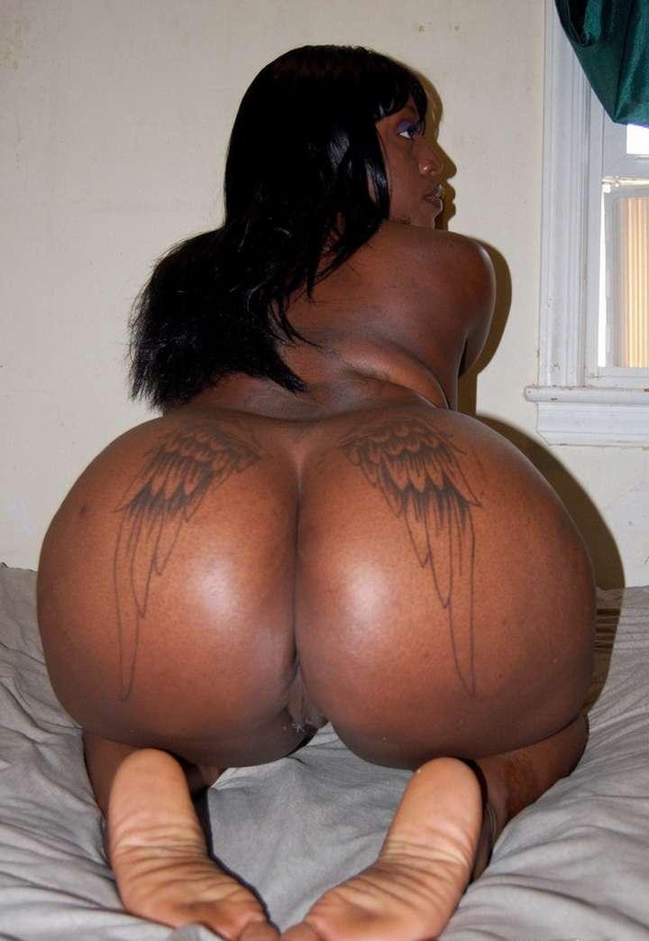 Gros cul noire nue