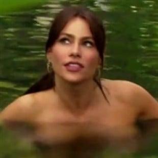 Sofia vergara see through nude