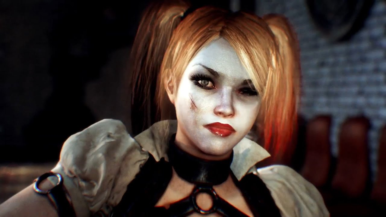 Harley quinn batman arkham knight