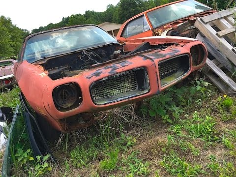 Vintage car barn finds