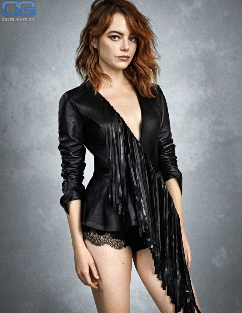 Emma stone naked playboy